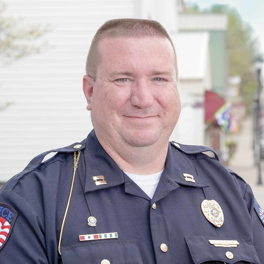 Berea Police Capt. Kenneth Puckett said one major advantage of the Career Development Program is it helps officers continue to focus on their career goals. Puckett said his city's willingness to offer a financial incentive is also a big plus. (Photo by Jim Robertson)