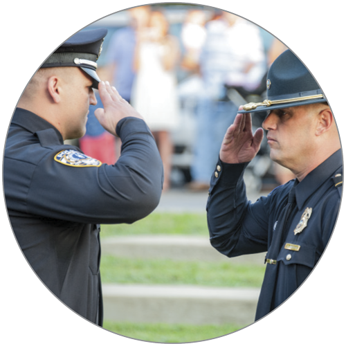 60% - RESPONDING AGENCIES THAT HAVE MINIMAL REQUIREMENTS TO PROMOTE TO THE RANK OF SERGEANT