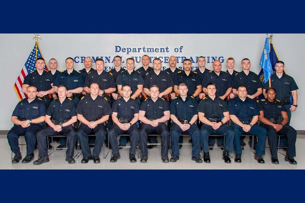 DOCJT Graduates 25 Officers from Basic Training Academy
