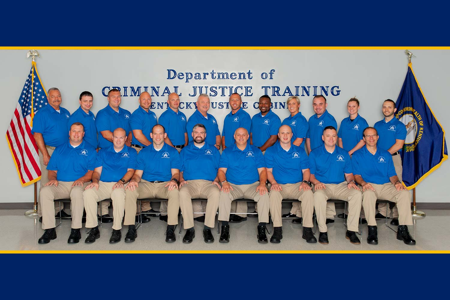 DOCJT Basic Training Class 502 Graduates — Kentucky Law