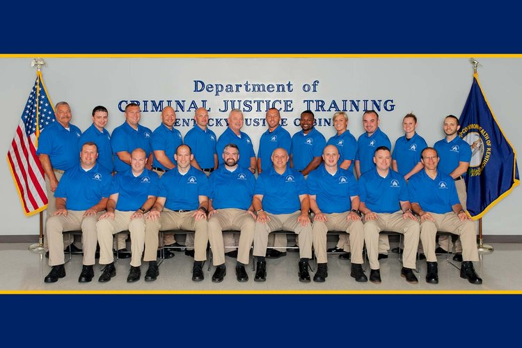 Twenty-one Officers Graduate from Sergeant's Course