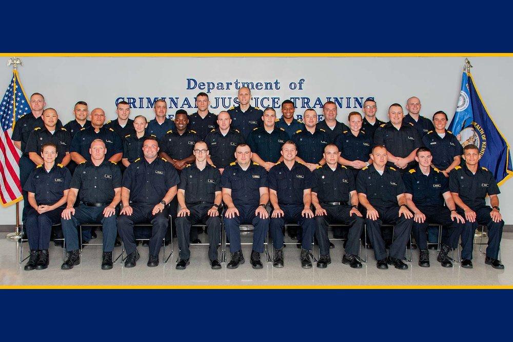 DOCJT Basic Training Class 502 Graduates — Kentucky Law