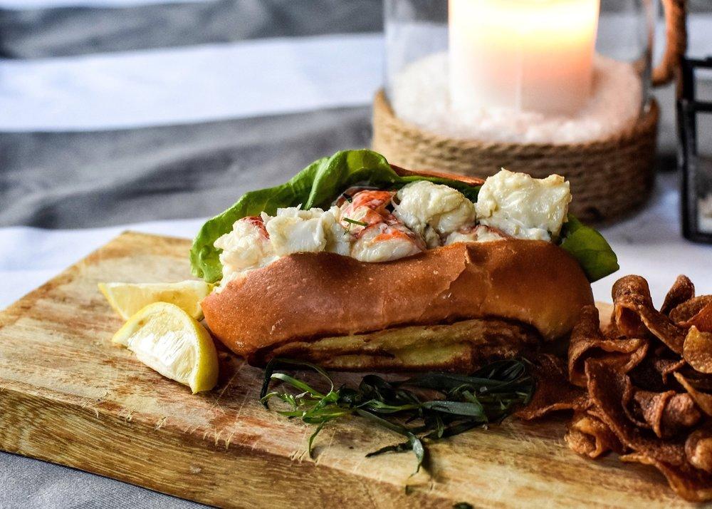 Tarragon-Scented Lobster Rolls