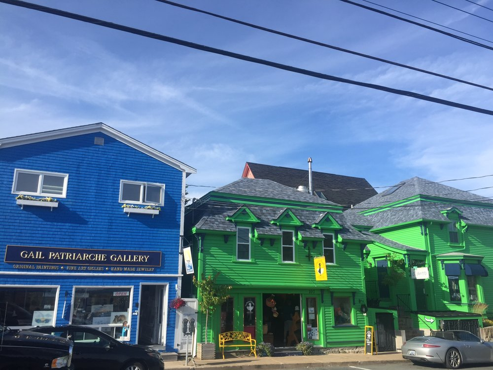 Downtown Lunenberg, Nova Scotia
