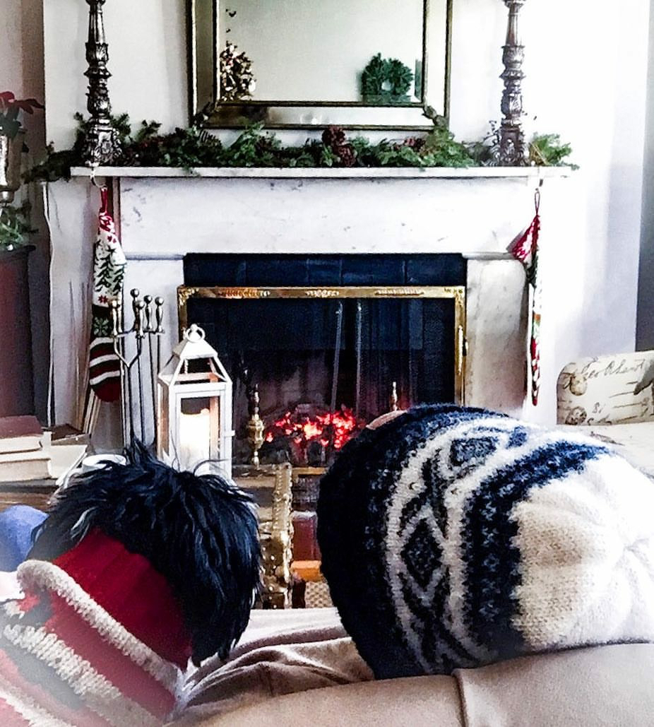 Cozy Sunday by the fire