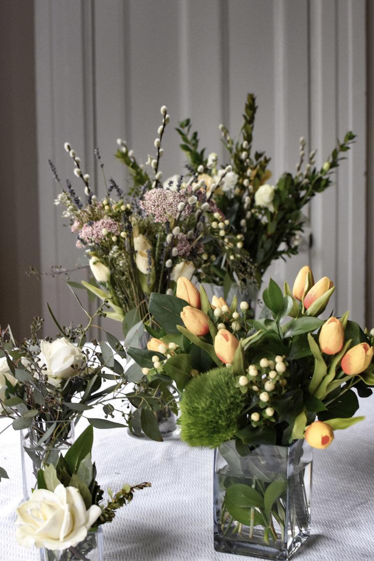 Fabulous Faux And Fresh Floral Arrangements The Boston Bon Vivant