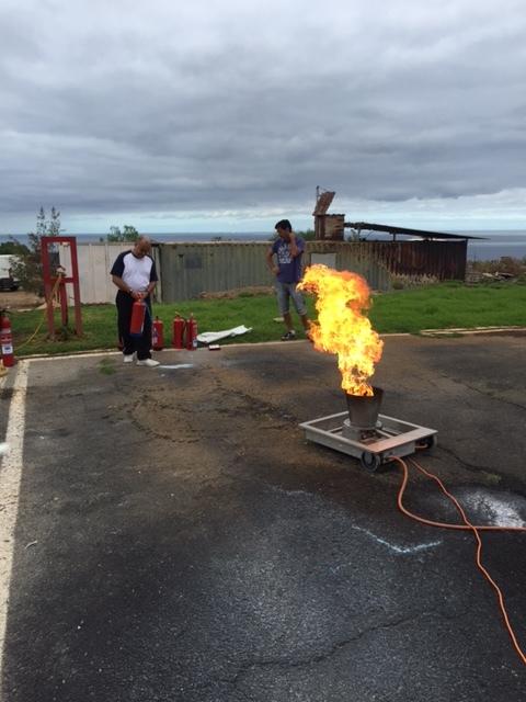 Uso Extintores Fuego Tipo C