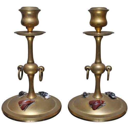 Brass Candlesticks brass candlesticks — embree & lake
