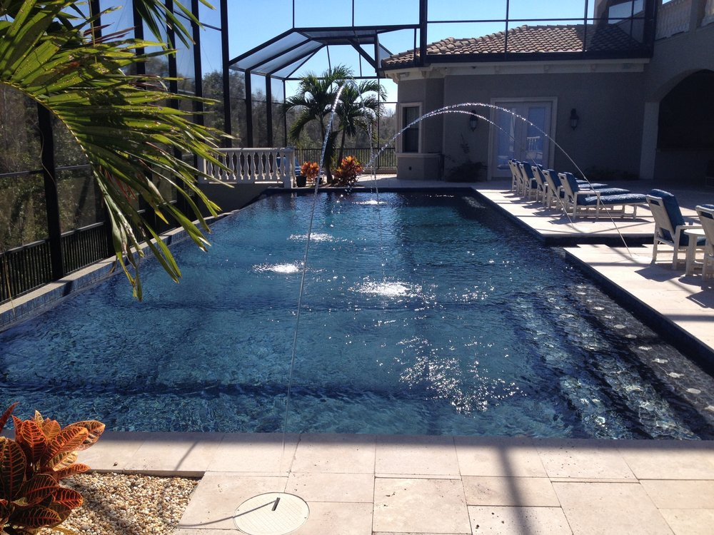 Free Consultation - This is a big decision so we will go over all of your available options in person. A great pool is a work of art put together with true craftsmanship and you should have exactly what you want.