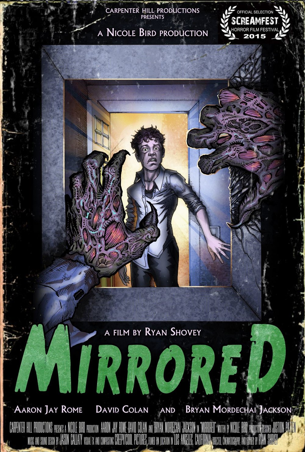 Mirrored Poster Design by Aaron Jay Rome