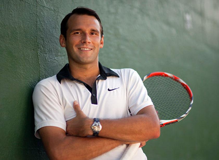 College Tennis Athlete