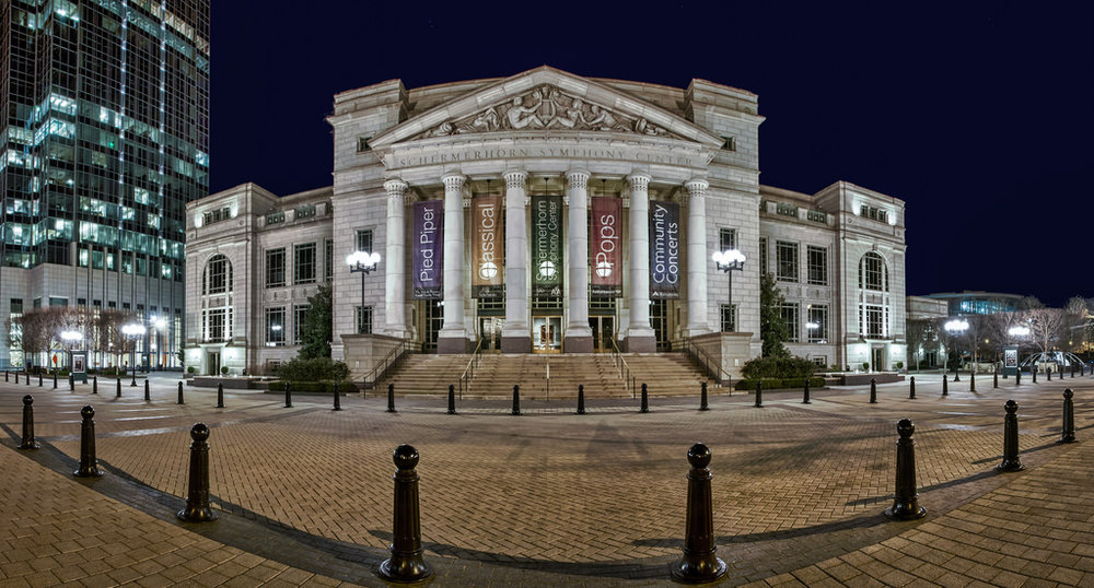 The Schermerhorn Symphony Center, home to the renowned, Grammy award-winning Nashville Symphony, anchors the downtown end of the recently designated Music Mile. The Music Mile is a symbolic stretch of roadway connecting the $123 million Symphony Center with the music district of Music Row, the vibrant new entertainment venues on Demonbreun Street, the Frist Center for the Visual Arts, the Country Music Hall of Fame and Museum, the Music City Walk of Fame and the Bridgestone Arena. The Music Mile perfectly illustrates how the music of Music City is indeed a common thread throughout the business, cultural and entertainment sectors of Nashville.