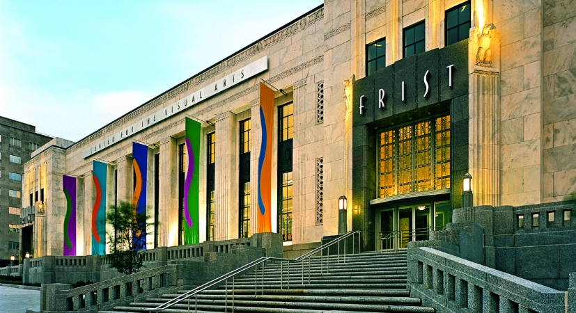 The Frist Center for the Visual Arts is a nonprofit art-exhibition center, with approximately 24,000 square feet of gallery space. It is dedicated to  presenting the finest visual art from local, state and regional artists, as well as major U.S. and international exhibitions.