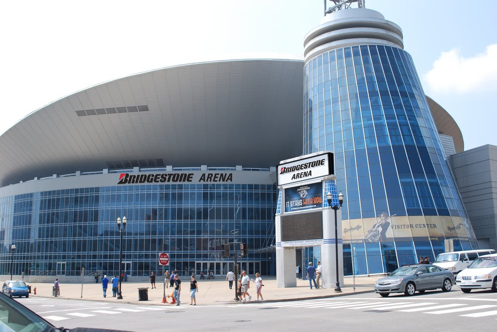 Bridgestone Arena is home to local hockey team the Nashville Predators. The facility also hosts a number of other events including concerts and basketball trounaments.