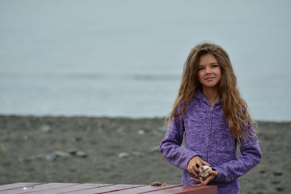 Taken on the beach in Homer Alaska