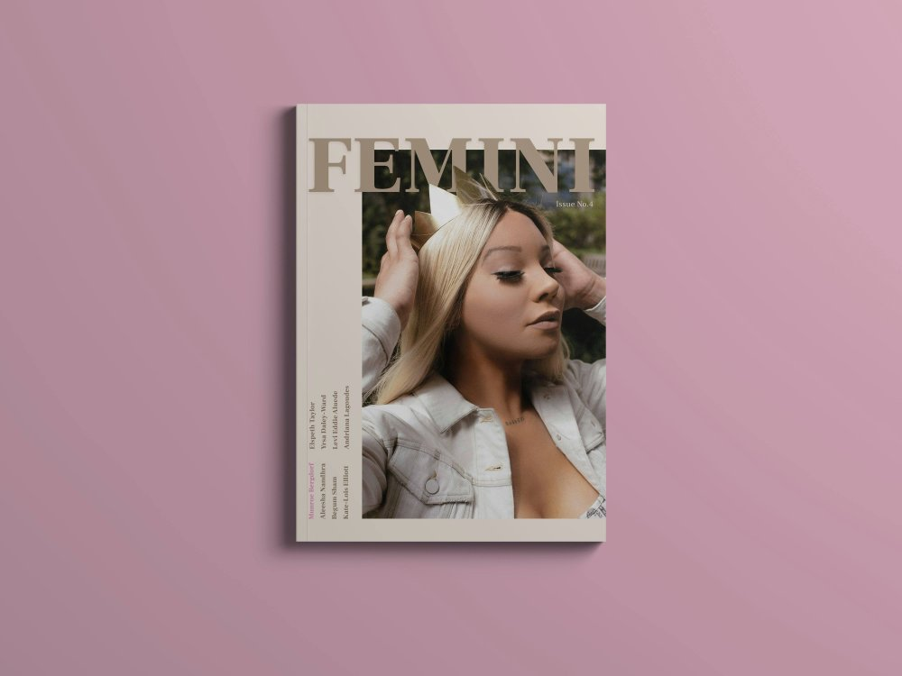 So proud of our first magazine cover! Thanks and love to queen  @munroebergdorf  for your love and support and  @feminimagazine  for creating this beautiful magazine!! click on image to shop your copy.