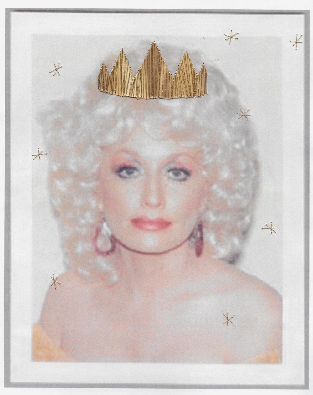 Original polaroid by Andy Warhol.
