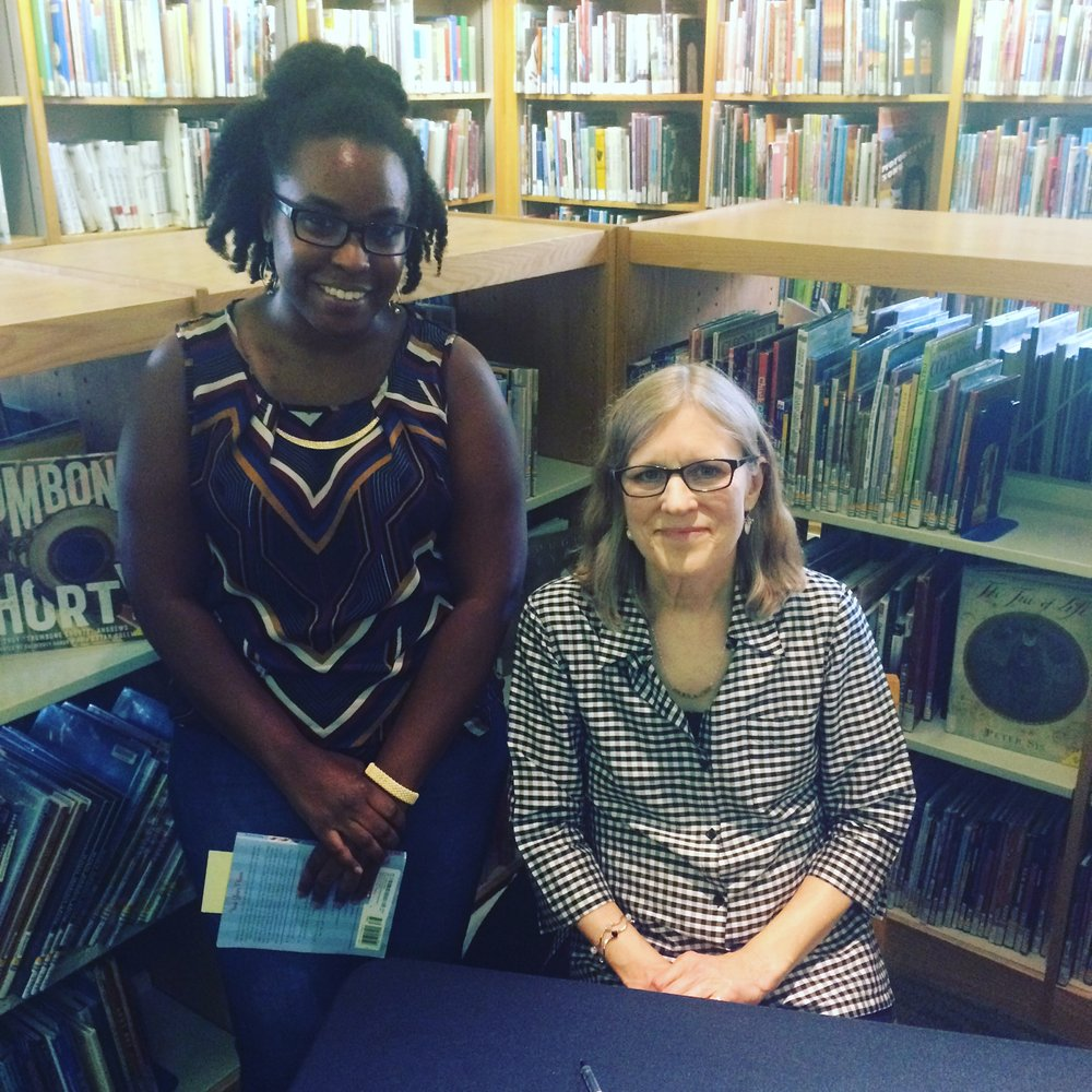 With author Ann M. Martin at Carnegie Library Words and Pictures