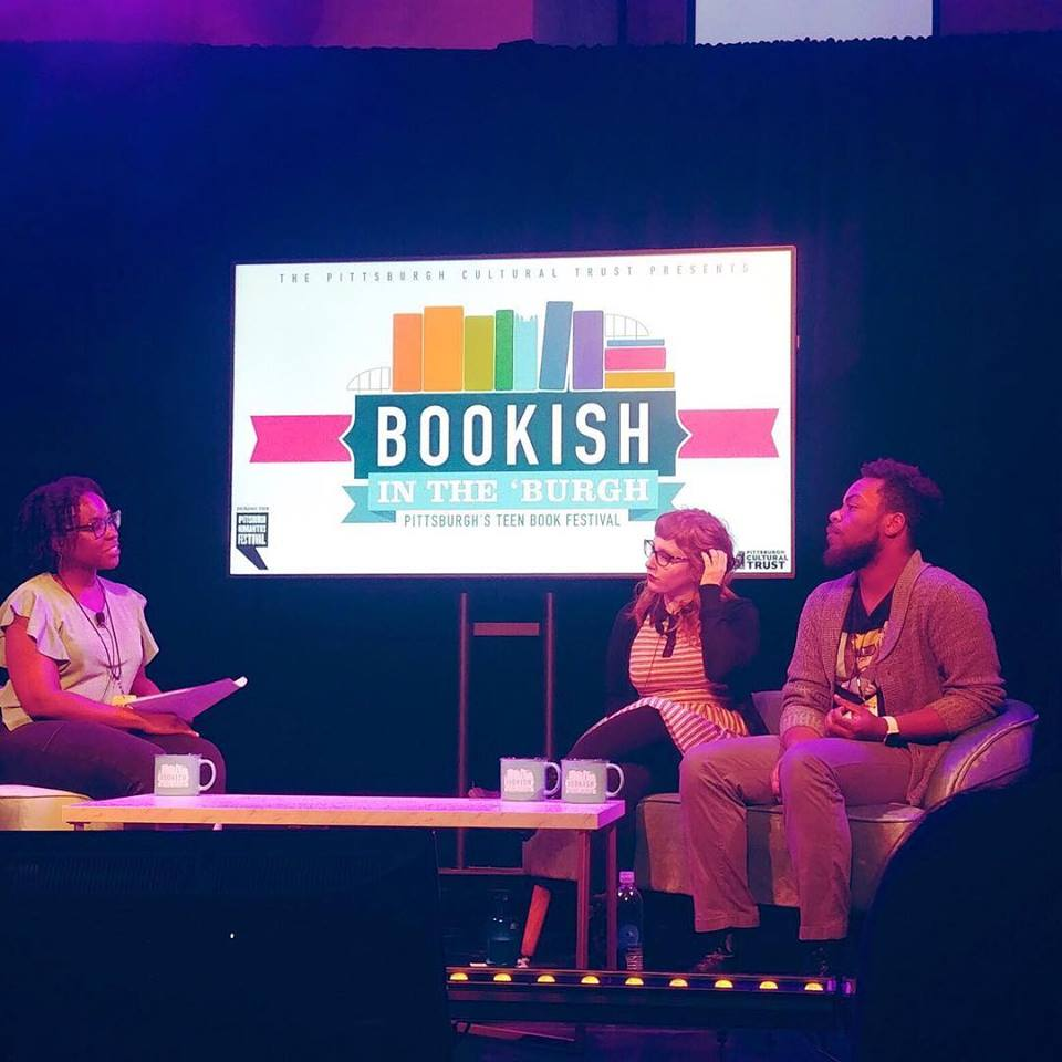 Ties That Bind Panel @ Bookish in the Burgh - I had the pleasure of moderating a talk featuring Jay Coles (Tyler Johnson Was Here) and Rachel Lynn Solomon (You'll Miss Me When I'm Gone), at Bookish In the Burgh the first teen book festival in Pittsburgh. March, 2019