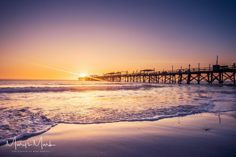 Photographer Redington Long Pier Florida at Sunset by Landscape Photographer Marys Mark Photography Mary Parkhill.jpg
