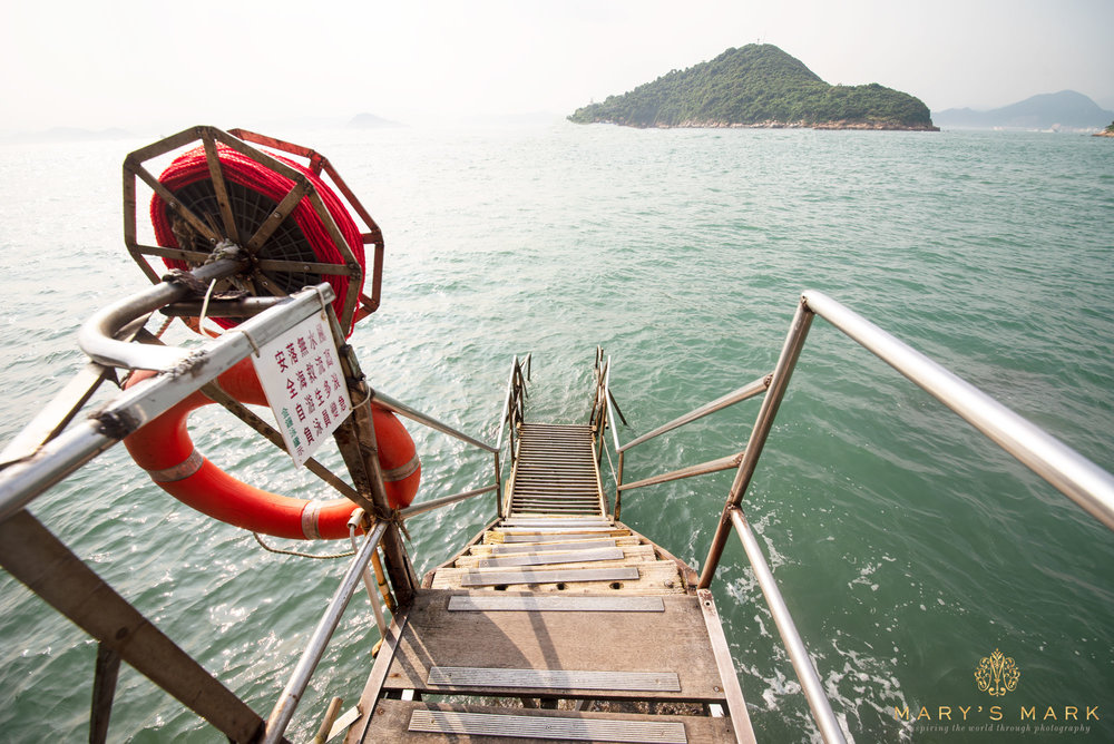 Sai Wan Swimming Shed in Hong-Kong-Stairs-by-Mary Parkhill of Marys-Mark-Photography.jpg