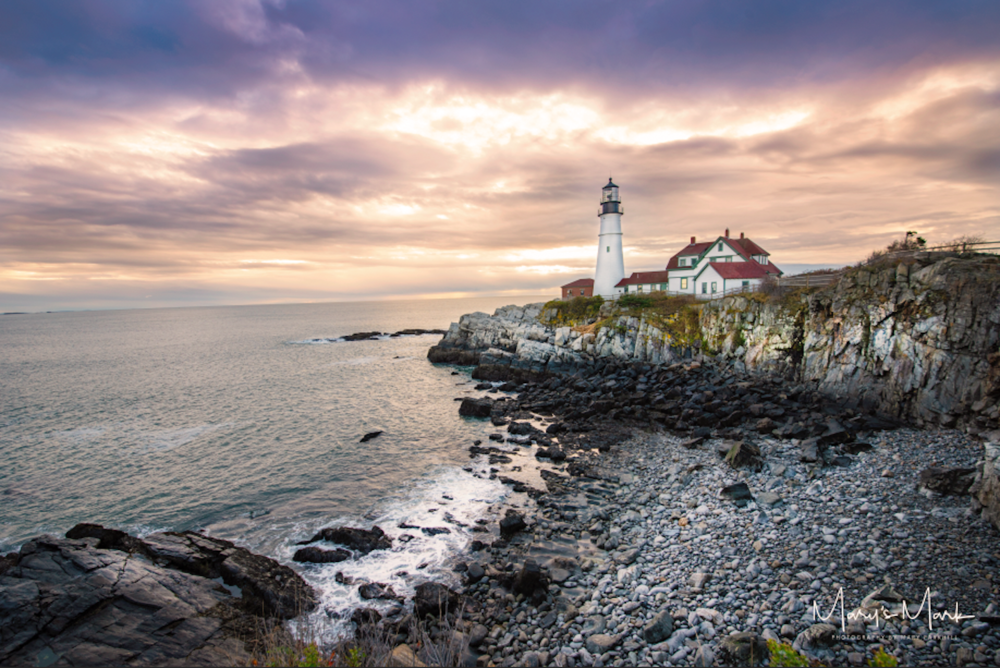 Dramatic Lighthouse Fine Art Photography by Mary Parkhill Mary's Mark Photography in Maine.png