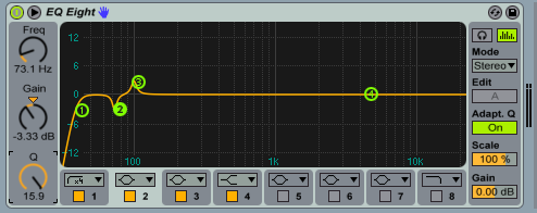 2. The Bass is the boosted at its most fundamental frequency or where you think it has the most low-end punch. For us it's 99Hz.
