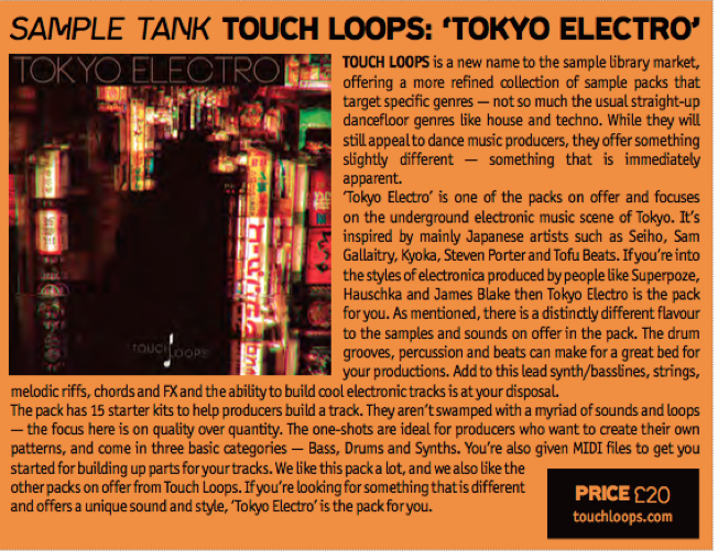 Tokyo Electro Sample Pack Review