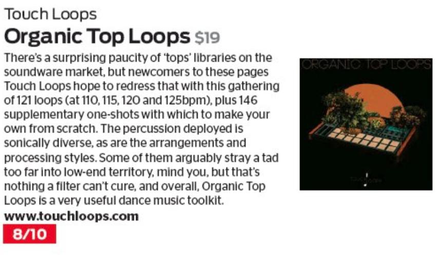 Organic Top Loops Sample Pack Review