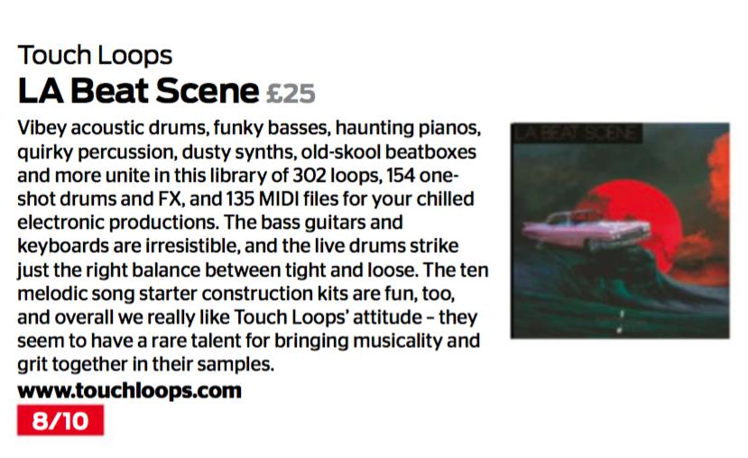 LA Beat Scene Computer Music Review