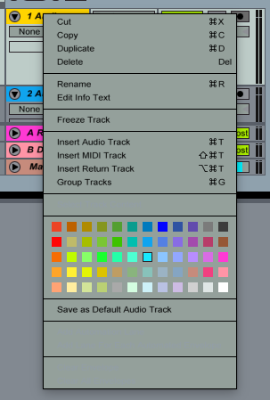 Set as default Ableton Live