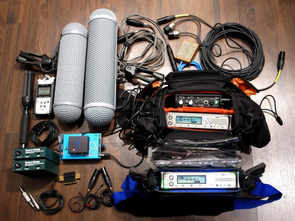 The options really are endless on how much you want to spend on location recording equipment.