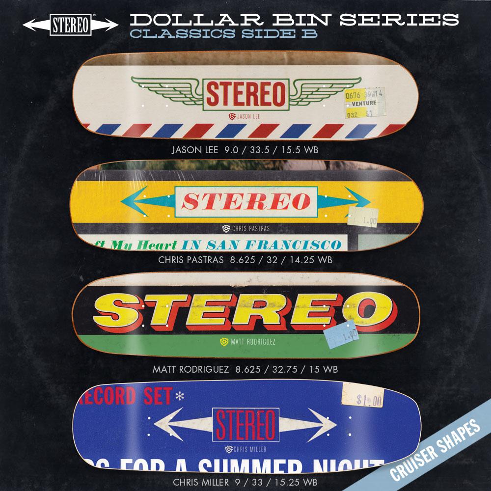 Stereo Dollar Bin series