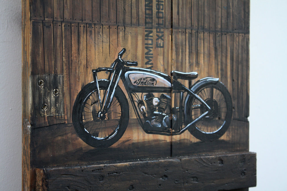 Wall of Death, 2012 Ron Rauto