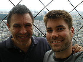 David Conte, Jacob Lake Top of Eiffel Tower, Paris, 2007