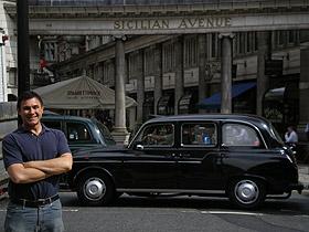 David Conte in London, 2007