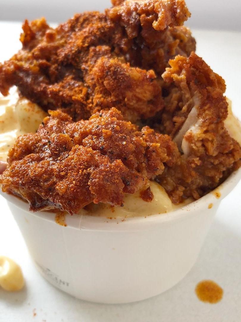 PEACH'S HOT CHICKEN - Hot, tasty Nashville chicken!