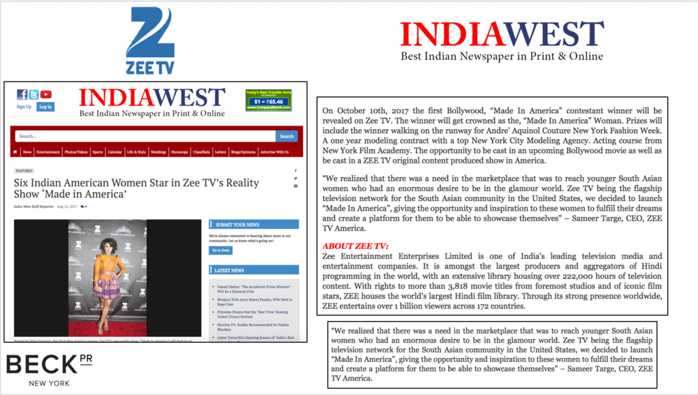 ZEE TV MIA - INDIA WEST - AUG 14TH 2017 - BECK PR NO STATS.png