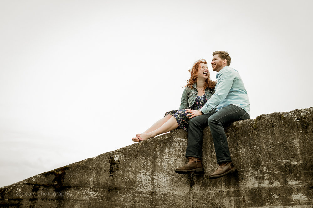 Chambers Bay Engagement Photos in University Place, WA