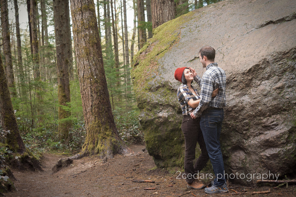 Cascade Mountains Couple Photo shoot