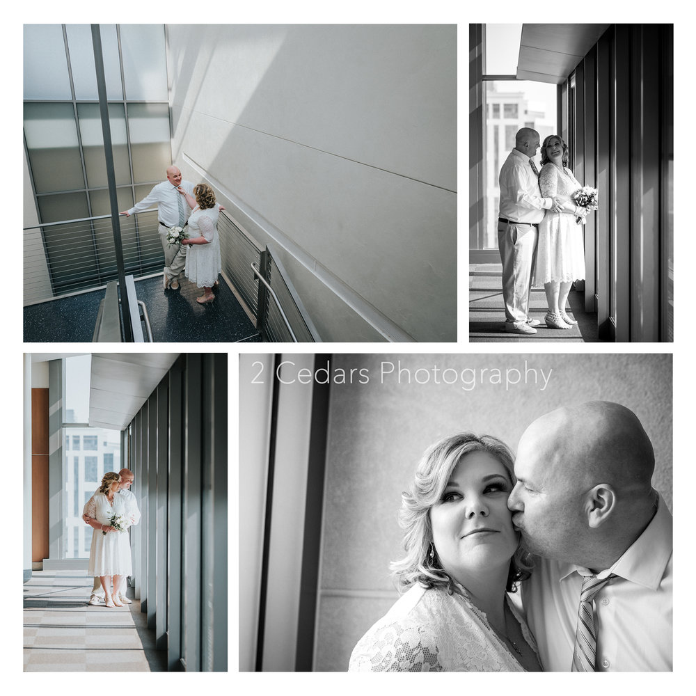Seattle Courthouse Elopement - 2 Cedars Photography Weddings