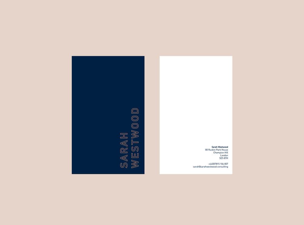Sarah Westwood - Business Cards