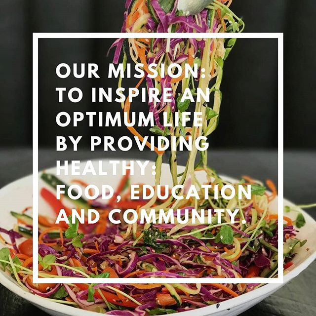This is our MISSION, what's yours?  What IMPACT do you want to have on your COMMUNITY and the WORLD?  We LOVE what we do and want know  what you LOVE, what drives you, what you are PASSIONATE about and what CHANGE you want to be in the world.  Comment your mission below and tag 2 friends. We will be selecting two people to taste our menu for free on Sunday!  Doors open on Sunday the 16th  at 10:30am.  See you all then! Love and Blessings  #vegan #love #community #plantbased #food #lifestyle #health #healthfood #mission #change #passion