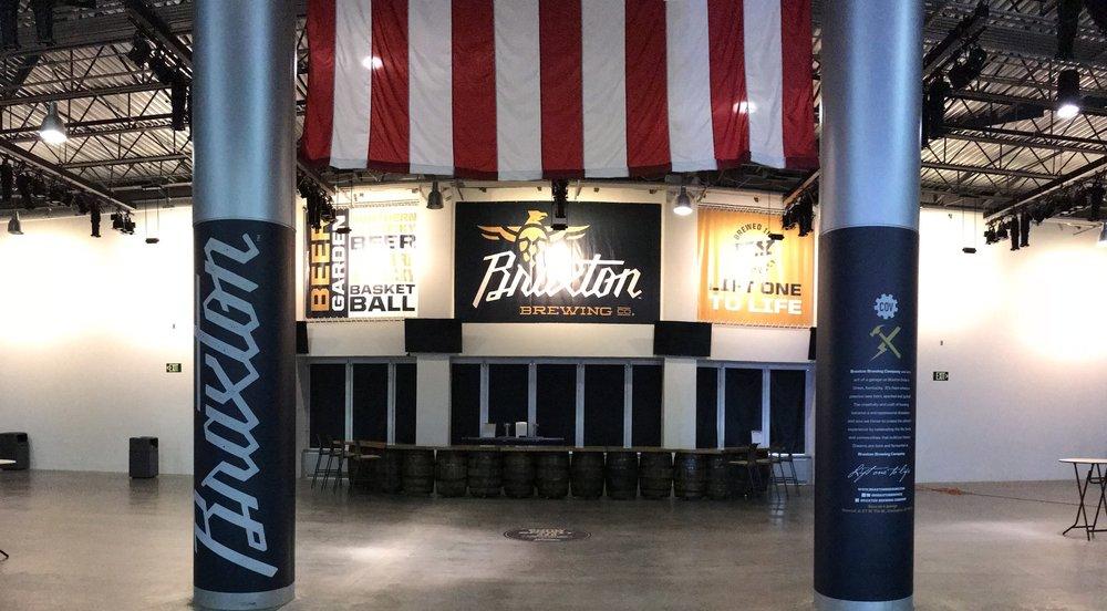 BB&T ARENA at NKU Braxton Beer Garden & Arena Signage