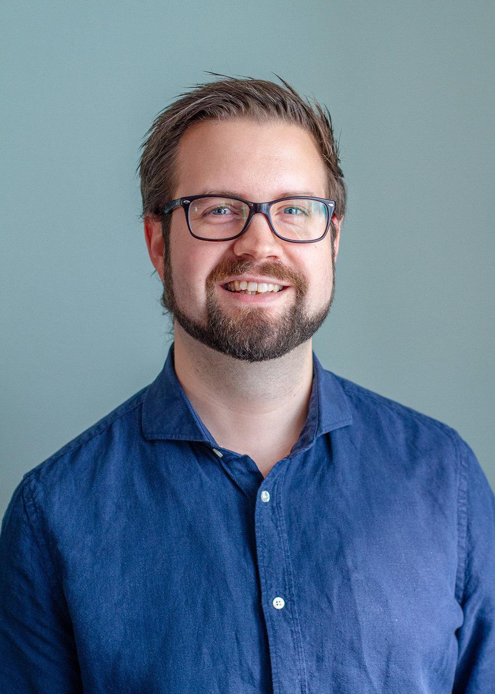 Anders Elfving,  VD