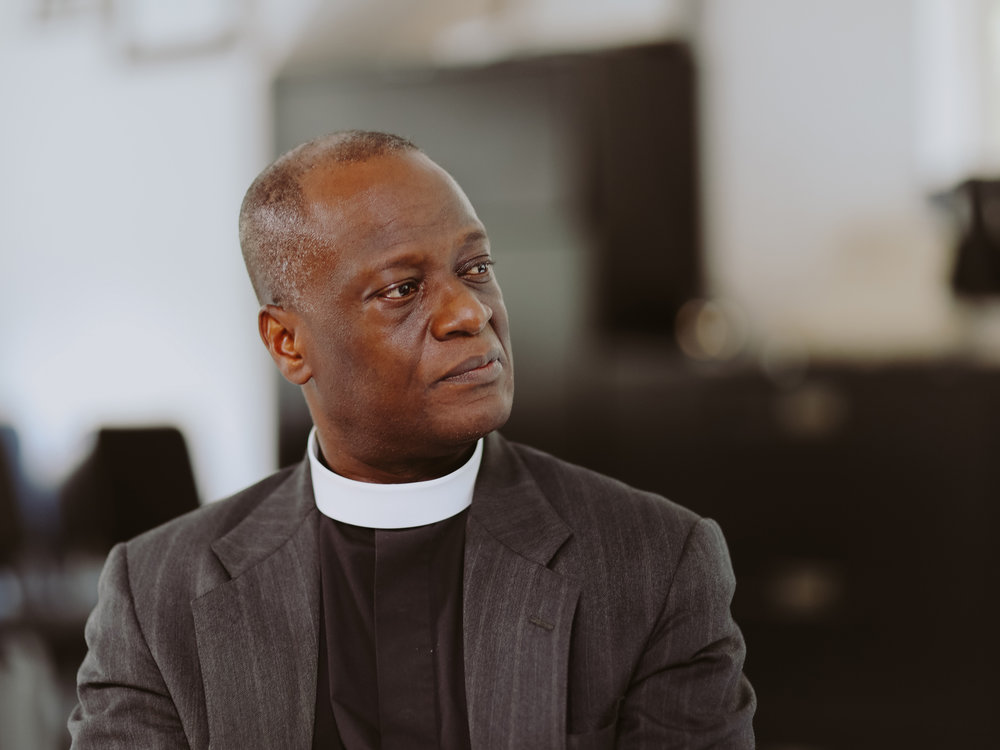 The Rev. John Thompson-Quartey, Canon for Ministry, Episcopal Diocese of Atlanta.