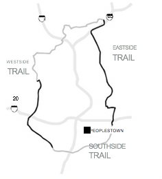 Beltline trail map