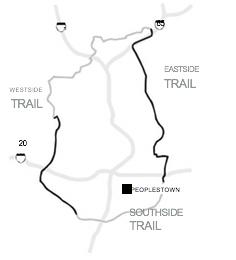 Beltline trail map