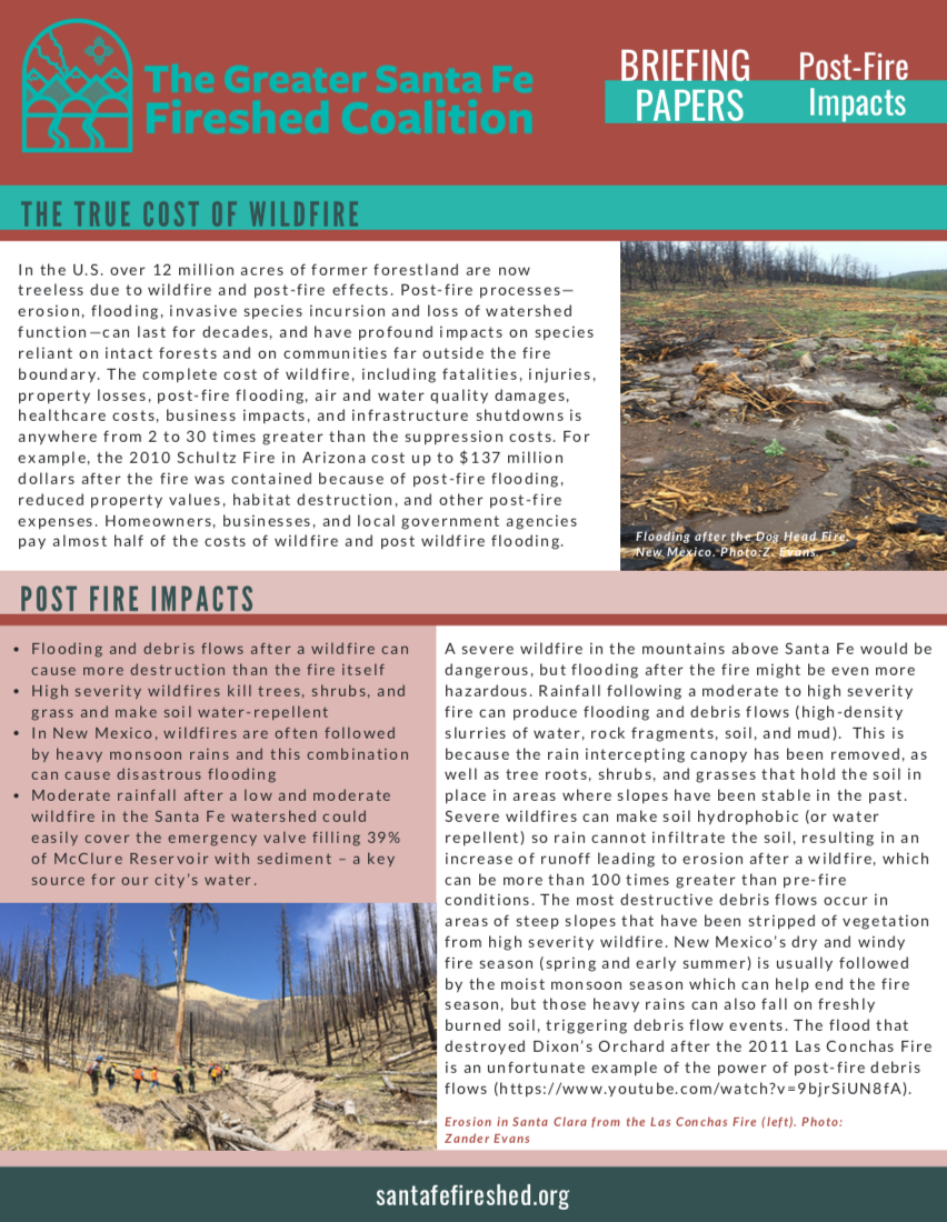 post fire impacts