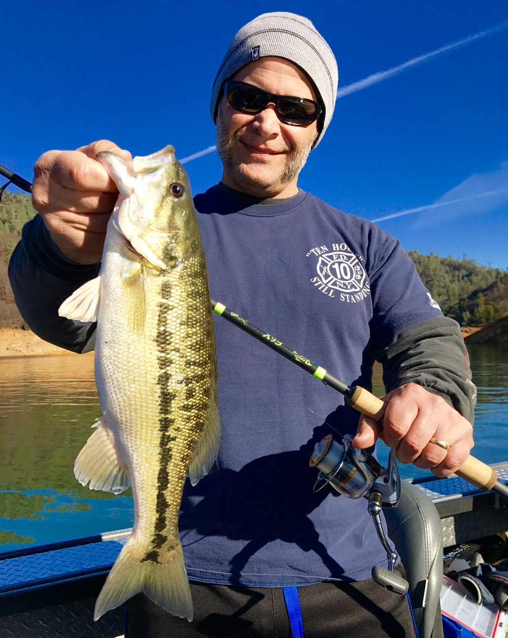 Shasta Lake Spotted bass!